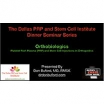 """Ever Wish You Could Go To An """"Honest"""" PRP and Stem Cell Seminar? Now you can"""